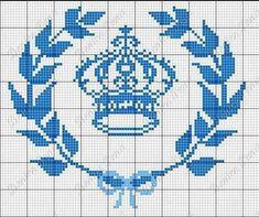 Cross Stitch For Kids, Cross Stitch Alphabet, Cross Stitch Charts, Cross Stitch Patterns, Crochet Cross, Filet Crochet, Cross Stitching, Cross Stitch Embroidery, Crochet Needles