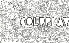 all songs by Coldplay Frases Coldplay, Coldplay Art, Music Love, Music Is Life, Good Music, Beautiful World Lyrics, Music Express, Look At The Stars, Pop Punk