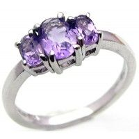 1.50ctw Genuine Amethyst & Solid .925 Sterling Silver Gemstone Ring (SJR1079A), Birthstone Rings. Buy Now: http://www.sterlingsilverjewelry.tv/genuine-amethyst-925-sterling-silver-gemstone-ring-sjr1079a.html #SterlingSilverJewelry #silverrings #sterlingsilverrings #ringsilver #silverringdesigns #handmaderings #silverringssterling #Rings #RingsJewelry