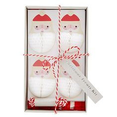 Christmas Party Treat Bag Kit set of 12 Meri by CrankyCakesShop