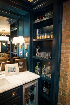 AMAZING lacquer bar details | Amy Berry Design