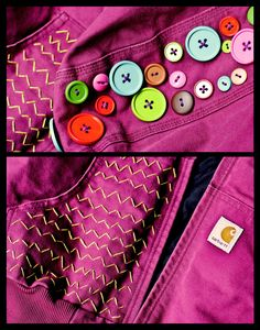 DIY-- add personal touches to your clothes