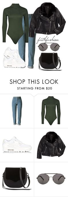"""""""Untitled #473"""" by faithfashionash on Polyvore featuring Boohoo, NIKE, Topshop, Rebecca Minkoff and Seafolly"""