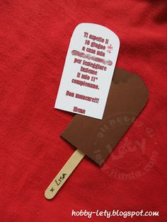 un invito per un gelato o un gelato per un invito?
