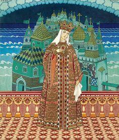 "Ivan Yakovlevich Bilibin(1876-1942), ""Tsaritsa Militritsa"" by sofi01, via Flickr"
