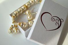Items similar to Wedding Pearl Jewelry Set, Champagne Pearl, Bridal Pearl Earrings, Wedding Pearl Bracelet, Champagne Pearl Bracelet Crystal Bridal Bracelet on Etsy Bridal Bracelet, Pearl Bracelet, Pearl Jewelry, Pearl Earrings, Beaded Bracelets, Drop Earrings, Handmade Jewelry, Unique Jewelry, White Beads