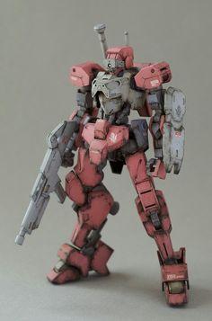 1/144 Shiden gundam IBO