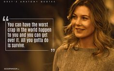 greys anatomy quotes Dont give up. Greys Anatomy Frases, Grey Anatomy Quotes, Mood Quotes, Positive Quotes, Life Quotes, Romance Quotes, Qoutes, Funny Quotes, Almond Nails French