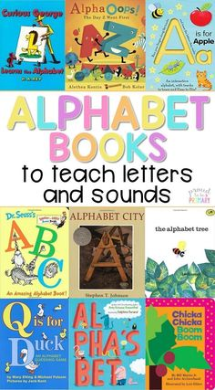 This is the ULTIMATE GUIDE to the BEST children's literature for teaching the alphabet in preschool and kindergarten. Teachers can read the alphabet books to teach letters and sounds aloud, share them in small groups, or add them to a classroom bookshelf!