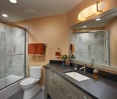 Bathroom Remodeling Tucson Az transitional master bathroom remodel with cantilevered bathroom