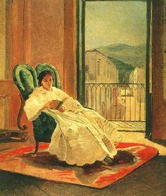 Portrait of the Artist's Wife Anna Ge, 1858 by Nikolai Gehttp://salidasdellaberinto.blogspot.com.es/