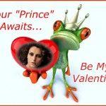 Fotoefectos de Amor simpáticos con esta ranita amorosa para enviar gratis online.