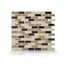 Smart Tiles - 6 - Piece 9.13 Inch x 10.25 Inch Peel and Stick Murano Dune Mosaik - SM1035-6 - Home Depot Canada
