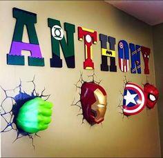 Resultado de imagem para superhero bookshelf