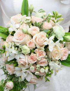 Romantic Teardrop Cascade Wedding Bouquet Which Includes