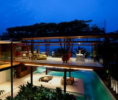 Beach house in Singapore