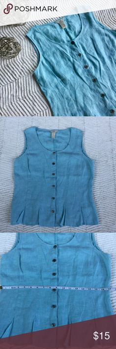 J. Jill Blouse J. Jill Button Down Blouse. In Great Condition. Measurements In Pictures. J. Jill Tops Blouses