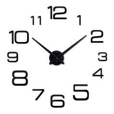 Chic Large Modern Wall Clock - Living Room Wall Clocks Collection