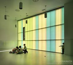 Escuela en el parque | Carroquino y Grávalos di Monte, arquitectos - http://www.jesusgranada.com/escuelaentrearboles/