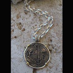 Atocha Shipwreck Grade I Coin Pendant Circa 1598-1621