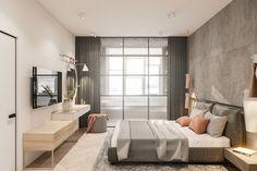 Richmond, the minimalist flat in the Scandinavian style on Behance