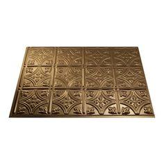 "Fasade® Traditional 1 - 18"" x 24"" PVC Backsplash Panel at Menards®: Fasade® Traditional 1 - 18"" x 24"" PVC Backsplash Panel"
