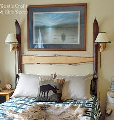 Art Work Guest Bed And Poster On Pinterest
