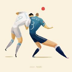 WORLD CUP 2014 by Rafael Mayani, via Behance