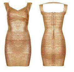 Goude jurk €100,-