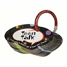 Get teens talking with this set of fun topics. This set of 50 questions created by teens will help your teen spark some fun conversation. Counseling Activities, Group Activities, Therapy Activities, Therapy Ideas, High School Counseling, School Social Work, School Counselor, Fun Teen Party Games, Conversation Cards