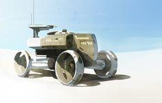 ArtStation - Light mpc vehicle, Anton Migulko