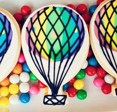 Hot Air Balloon Birthday Party! - Kara's Party Ideas - The Place for All Things Party