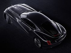 Rolls-Royce Coupé is a personal design concept illustrating a more sculptural execution of the Rolls-Royce aesthetics.