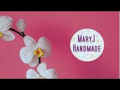 Orquídea de crochê passo a passo - YouTube