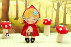 Cutest ever Little Red Riding Hood!