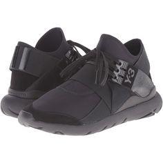 adidas Y-3 by Yohji Yamamoto Qasa Elle Lace Women's Lace up casual... (43775 RSD) ❤ liked on Polyvore featuring shoes, black, lace up shoes, laced shoes, lacy shoes, laced up shoes and black lace shoes