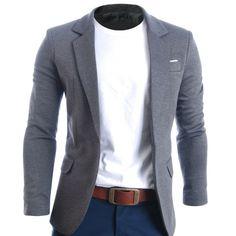 Mens Slim Fit Casual Premium Blazer Jacket (BJ102) #FLATSEVEN #MENSFASHION #BLAZER # CLOTHING