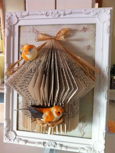 Book Folding To This................ Sue Ralph Birdcage Craft Studio