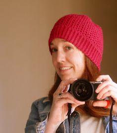 Ball Hank n' Skein: Free Crochet Hat Pattern - The Perfect V-Stitch Hat