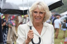 The Duchess of Cornwall made the revelation at the 132nd Sandringham Flower Show at Sandringham House in Norfolk