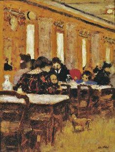 1894 Jean Édouard Vuillard (French artist, 1868-1940) The Little Restaurant