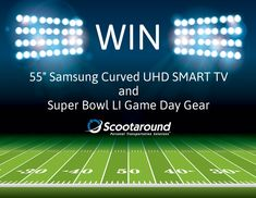 Scootaround Super Bowl Sweepstakes http://promo.scootaround.com/giveaways/super-bowl-sweepstakes/?lucky=1223 2/1