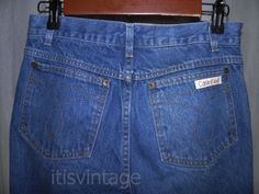 Vintage-1980-039-s-Calvin-Klein-Denim-Jeans-Made-USA-Meant-to-Fade-26x29-actual