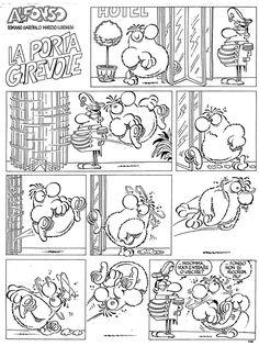 Una porta girevole...complicata. #IoSeguoItalianComics #Satira #Politica #Comics #Humor #Italy #Alfonso