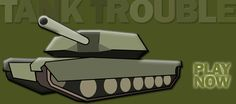 Play all two versions of tank trouble game online, it's free and very cool.