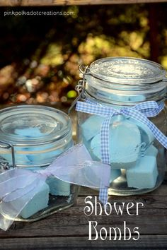 recipe shower bombs