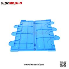 Foldable Crate Cover. Welcome to follow and contact us! Email: sino-mould@hotmail.com. Whatsapp: +86 158-5868-5625.