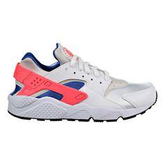 super popular 1f154 a6119 Nike Air Huarache Men s Running Shoes White Ultramarine Solar Red  318429-112