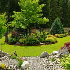 Beautiful Flowers Garden, Beautiful Gardens, Landscape Design, Garden Design, Landscape Curbing, Buddha Garden, Backyard Makeover, Rooftop Garden, My Secret Garden