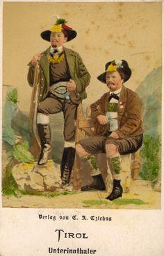 Austria - Tyrolean costume